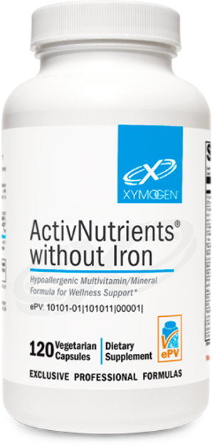 Picture of ActivNutrients® without Iron 120 Capsules